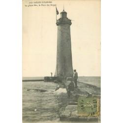 85 LES SABLES D'OLONNE. Le Phare des Barges 1919