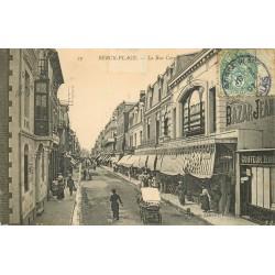 62 BERCK PLAGE. Bazar Jeanne d'Arc rue Carnot 1907