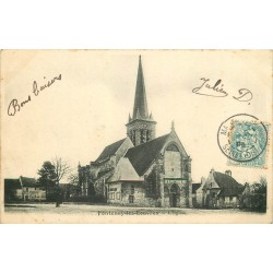 95 FONTENAY-LEZ-LES-LOUVRES. L'Eglise 1905