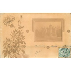 RARE Photo Cpa 33 Arcachon. VILLA DU LUXEMBOURG 1905