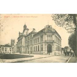 77 MEAUX. Hôtel de Ville et Caisse d'Epargne 1906