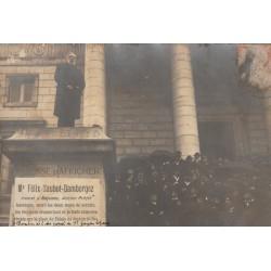 RARE 64 PAU. Photo cpa de Mr Félix Saubot-Damborgez avocat à Bayonne écrite au Sénateur Catalogne