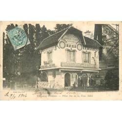 PARIS 07. Pilier Est de la Tour Eiffel. Couveuse d'enfants pour Bébés vivants 1904