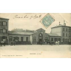 95 PONTOISE. La Gare 1906