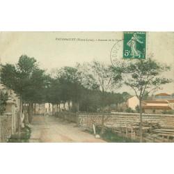 43 PAULHAGUET. Avenue de la Gare 1911
