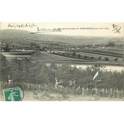51 BERGERES-LES-VERTUS. Viticulteurs dans les Vignes 1910
