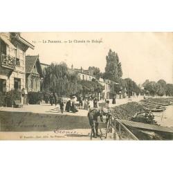 94 LE PERREUX. Location de Canots sur le Chemin de Halage 1905