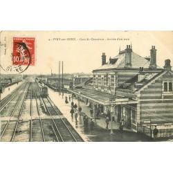 94 IVRY-SUR-SEINE. Arrivée d'un Train en Gare du Chevaleret 1910