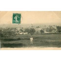 58 SAINT-REVERIEN. Vue sur la Ville vers 1910
