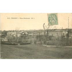 58 TEIGNY. Vue générale sur le Village 1907