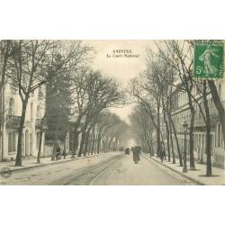 17 SAINTES. Le Cours National 1913
