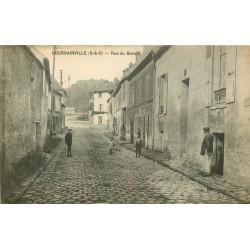 95 GOUSSAINVILLE. Rue du Bassin 1917