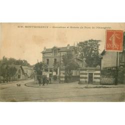 95 MONTMORENCY. Carrefour et Entrée Restaurant du Parc de l'Orangerie