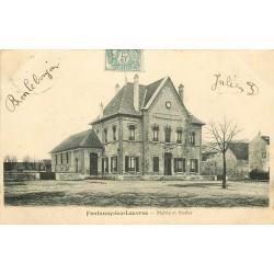 95 FONTENAY-LEZ-LOUVRES. Mairie et Ecoles 1905