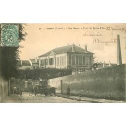 95 GONESSE. Ecole de Jeunes Filles rue Neuve 1907
