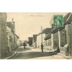 89 BRION. La Rue Principale animée 1913