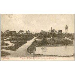 carte postale ancienne 02 TERGNIER. Buttes Chaumont Cité des Cheminots 1929