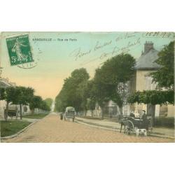95 ARNOUVILLE-LES-GONESSE GONESSES. Attelages rue de Paris 1914
