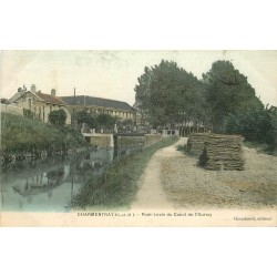 77 CHARMENTRAY. Pont-Levis du Canal de l'Ourcq 1904