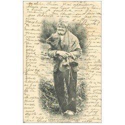 carte postale ancienne 66 AMELIE-LES-BAINS. Vieux Catalan 1904