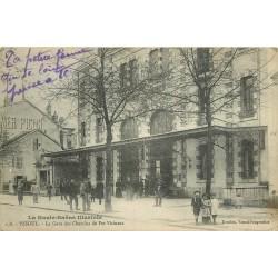 70 VESOUL. Gare des Chemins de Fer Vicinaux 1917