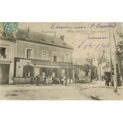 95 EAUBONNE. Hôtel café restaurant Boutreau 8 rue de Paris 1904