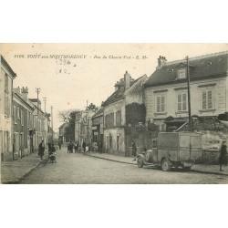 95 SOISY-SOUS-MONTMORENCY. Epicerie et camion anciens rue du Chemin-Vert
