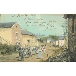 Luxembourg ROSSART. Attelage et Paysans sur Grand'Rue 1918