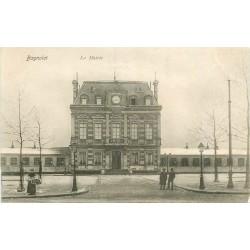 93 BAGNOLET. La Mairie sous la Neige vers 1905