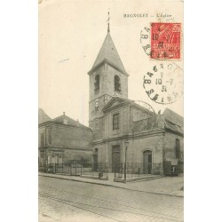 93 BAGNOLET. L'Eglise Saint-Leu Saint-Gilles rue Sadi Carnot 1931