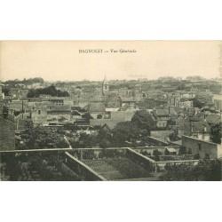 93 BAGNOLET. Vue générale sur la Ville 1929