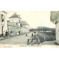 95 GOUSSAINVILLE. La Poste Place Montmorency 1903