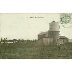 95 ARNOUVILLE-LES-GONESSE GONESSES. Cottage avec son Château d'eau 1906