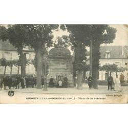 95 ARNOUVILLE-LES-GONESSE GONESSES. Place de la Fontaine 1915
