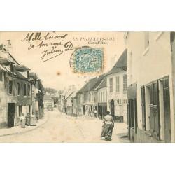 95 LE THILLAY. Grande Rue 1905 commerce Jondeau