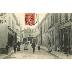 2 x Cpa 95 VILLIERS-LE-BEL. Papeterie rue de l'Aistre 1908 et multivues 1905