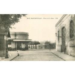94 ALFORTVILLE. Café Place de la Gare (Bière Dumesnil)