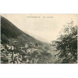 carte postale ancienne 66 FONTPREDOUSE. Le Village