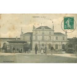 33 LIBOURNE. La Gare 1910