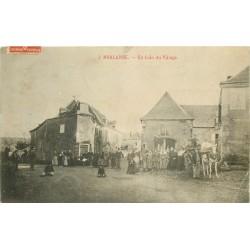64 MORLANNE. Un Coin du Village grosse animation 1912