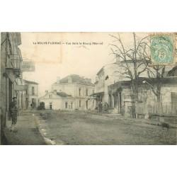33 LE SOUYS-FLOIRAC. Le Bourg avec Pâtisserie et Restaurant 1906