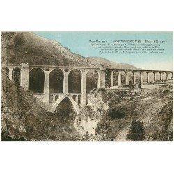 carte postale ancienne 66 FONTPREDOUSE. Pont Sejourne