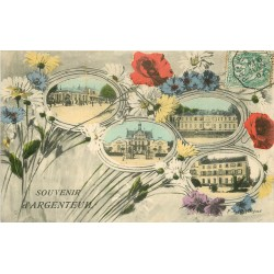 95 ARGENTEUIL. Souvenir en multivues 1907