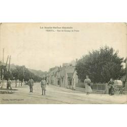 70 VESOUL. Rue du Champ de Foire bien animée 1917