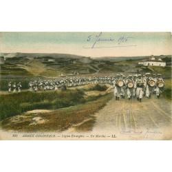 ALGERIE ARMEE COLONIALE. La Légion Etrangère en Marche 1916