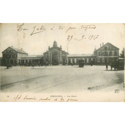 02 SOISSONS. La Gare 1917