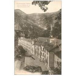 carte postale ancienne 66 LA PRESTE. Etablissement Thermal 1933