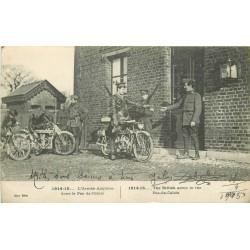62 Motards Armée anglaise livrant le courrier dans le Pas-de-Calais 1916