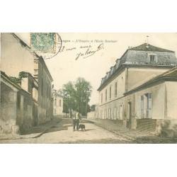 92 GARGES LES GONESSES. Hospice et Ecole Duvivier 1906