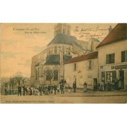 95 GONESSE. Café buvette Hiard au 56 rue de l'Hôtel de Ville et Hôtel-Dieu 1915